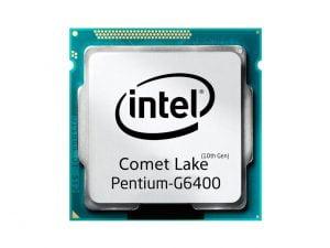 پردازنده اینتل Pentium G 6400 Box